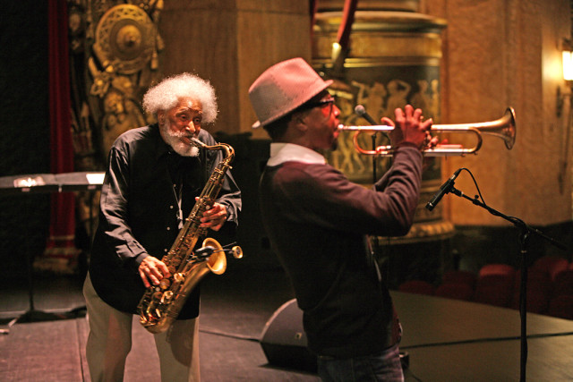 Sonny Rollins & Roy Hargrove 2010