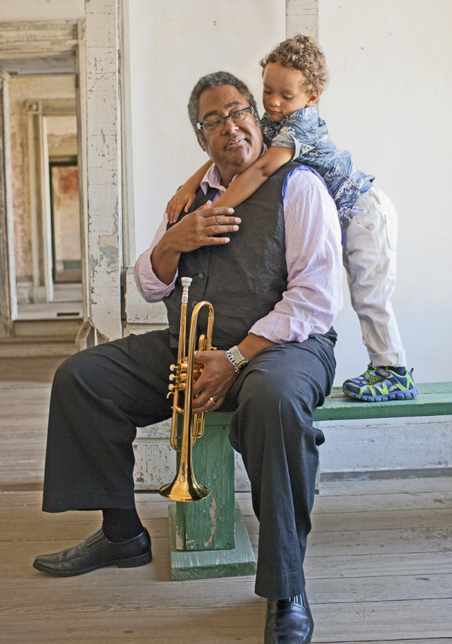Jon Faddis with son, Tyler